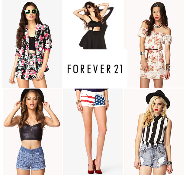Forever 21: Summer Clothing Central – SOCIETY19
