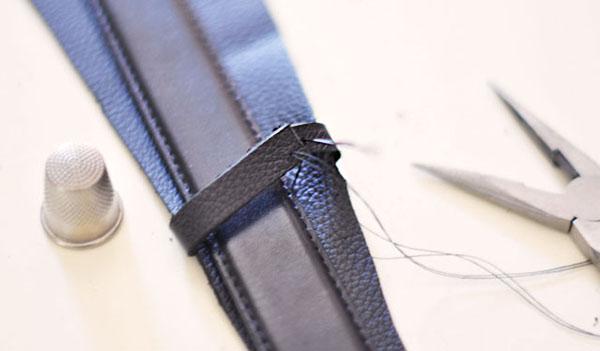 diy wide leather belt society19