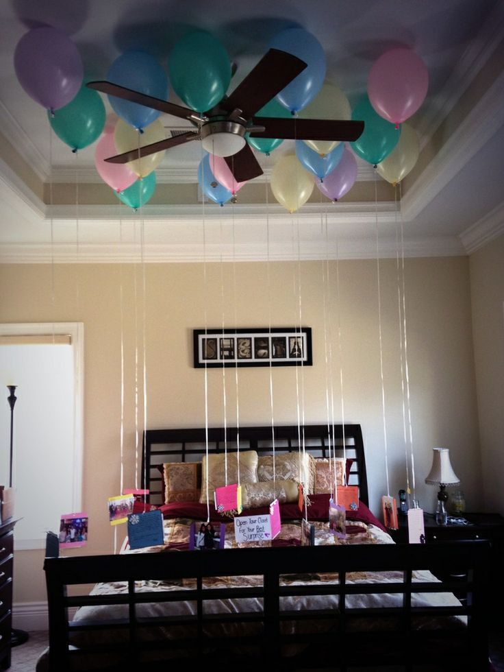 10 fun 21st birthday ideas for your bestie society19 for Room decor ideas for husband birthday