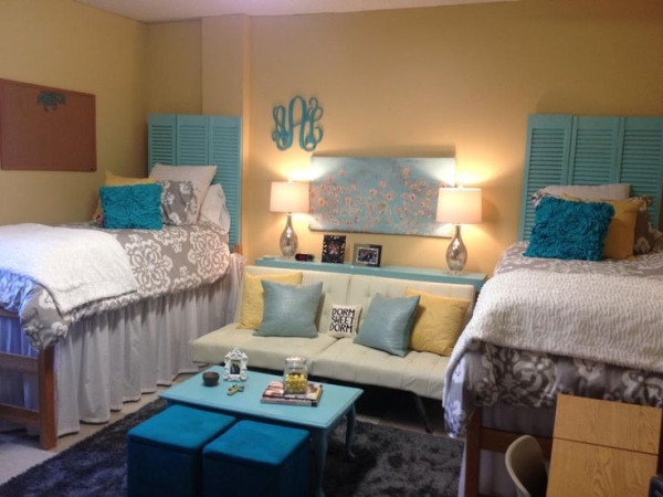 20 Mississippi State Dorm Rooms That Will Inspire You  ~ 021824_Auburn Dorm Room Ideas