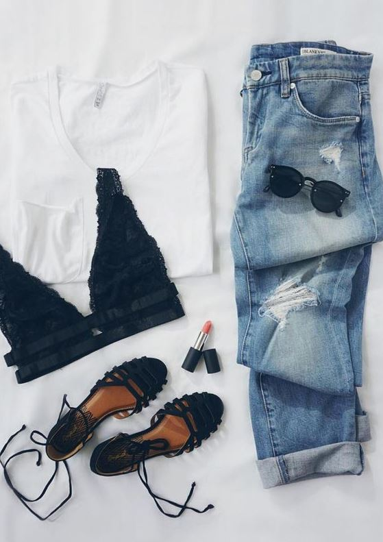 15 easy and cute outfits for school  society19
